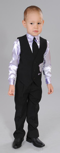 жилет,брюки,рубашка,галстук