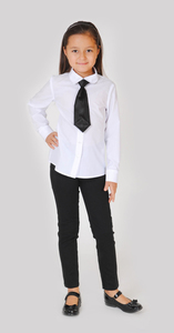 блузка+галстук